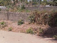 Partly fence land for sale at ...